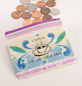 Blue Q Coffee Money Coin Purse