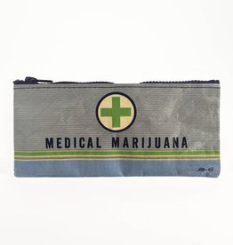Blue Q Medical Marijuana Pencil Case