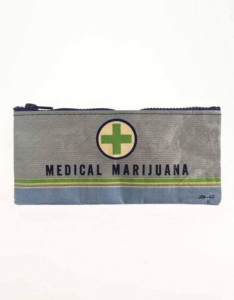 Blue Q Medical Marijuana Pencil Case