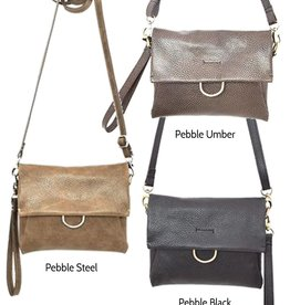 Latico Leathers Tucker Small Leather Crossbody, Wristlet