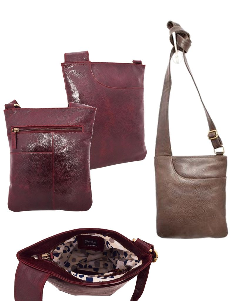Latico Leathers Athena Crossbody Leather Bag