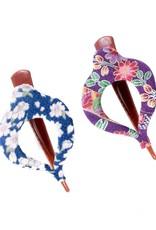 Annie Loto Studios Kimono Small Harp Clip Shibori