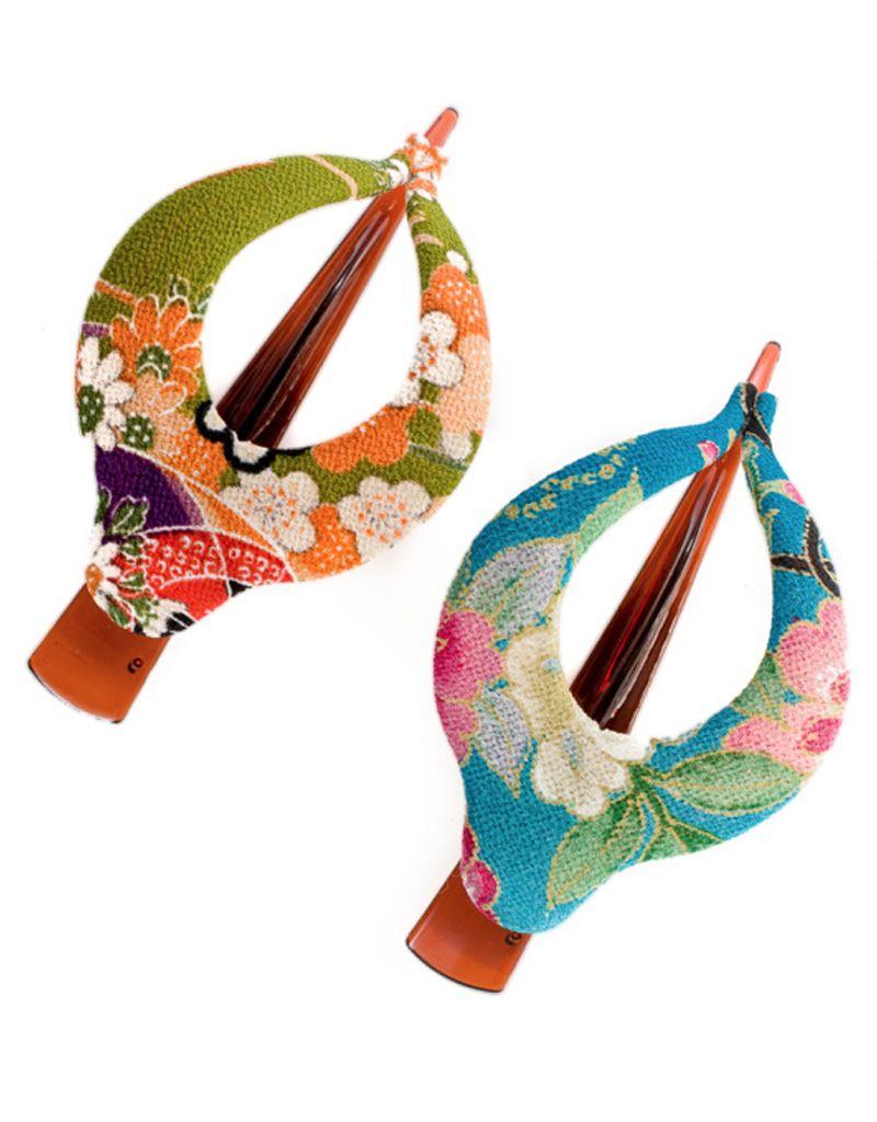 Annie Loto Studios Kimono Harp Clip Shirbori LG