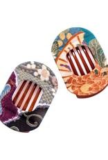 Annie Loto Studios Kimono Wide Clip Shibori