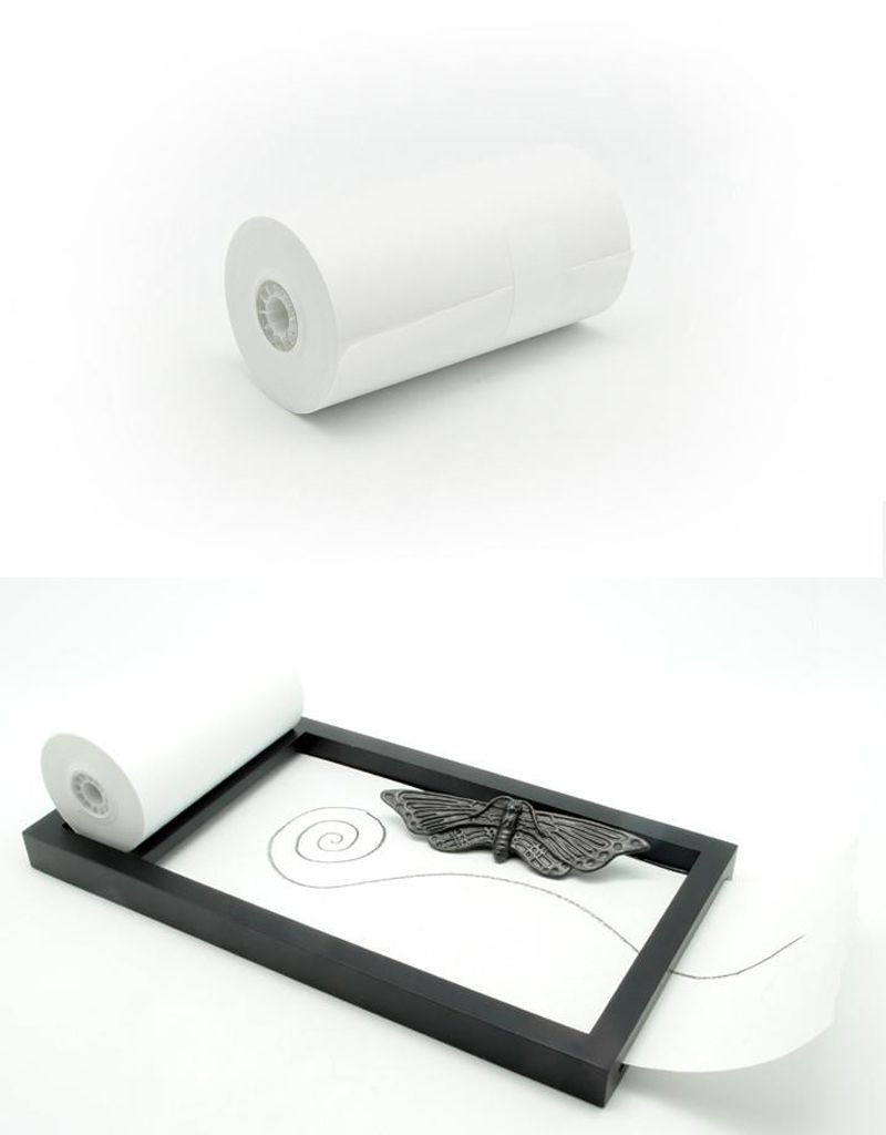 Batle Studio Roll Paper Refill for Drawing Tray