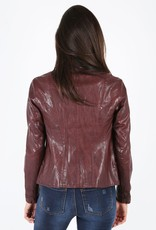 Kut from the Kloth Brittney Motocross Vegan Leather Jacket by Kut from the Kloth