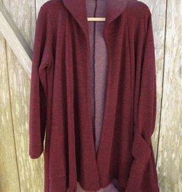 Cut Loose Swing Coat - Crimped Fabric