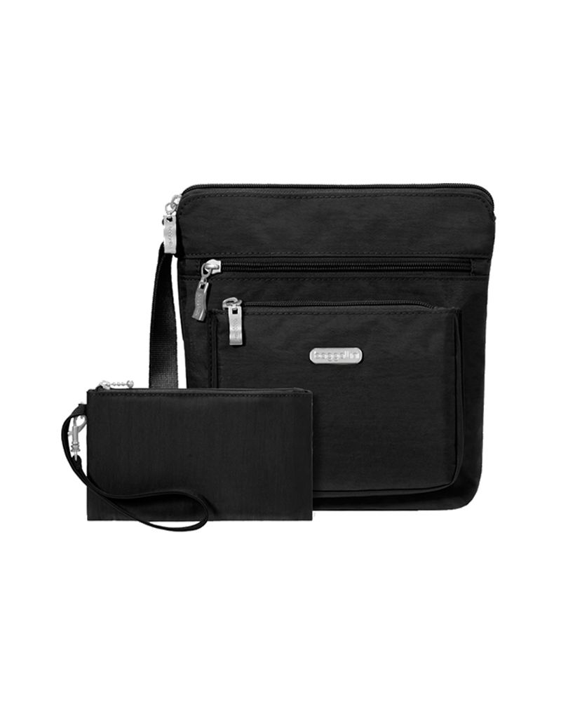 Baggallini Pocket Crossbody Bag W Rfid