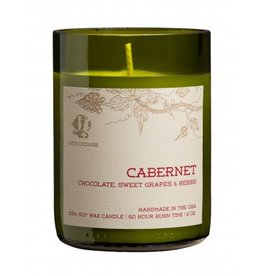 Rescued Wine Cabernet 8 oz Soy Balance Candle