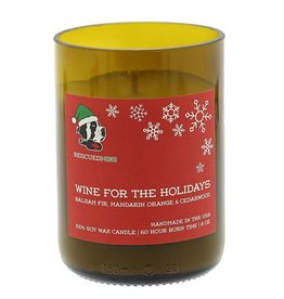 Rescued Wine Holiday 8 oz Soy Balance Candle