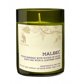 Rescued Wine Malbec 8 oz Soy Balance Candle