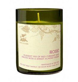 Rescued Wine Rose 8 oz Soy Balance Candle