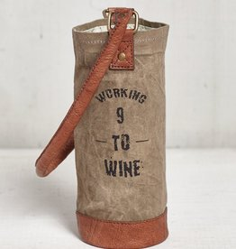 "Mona B ""Working"" Wine Bag"
