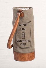 "Mona B ""Wine On"" Wine Bag"