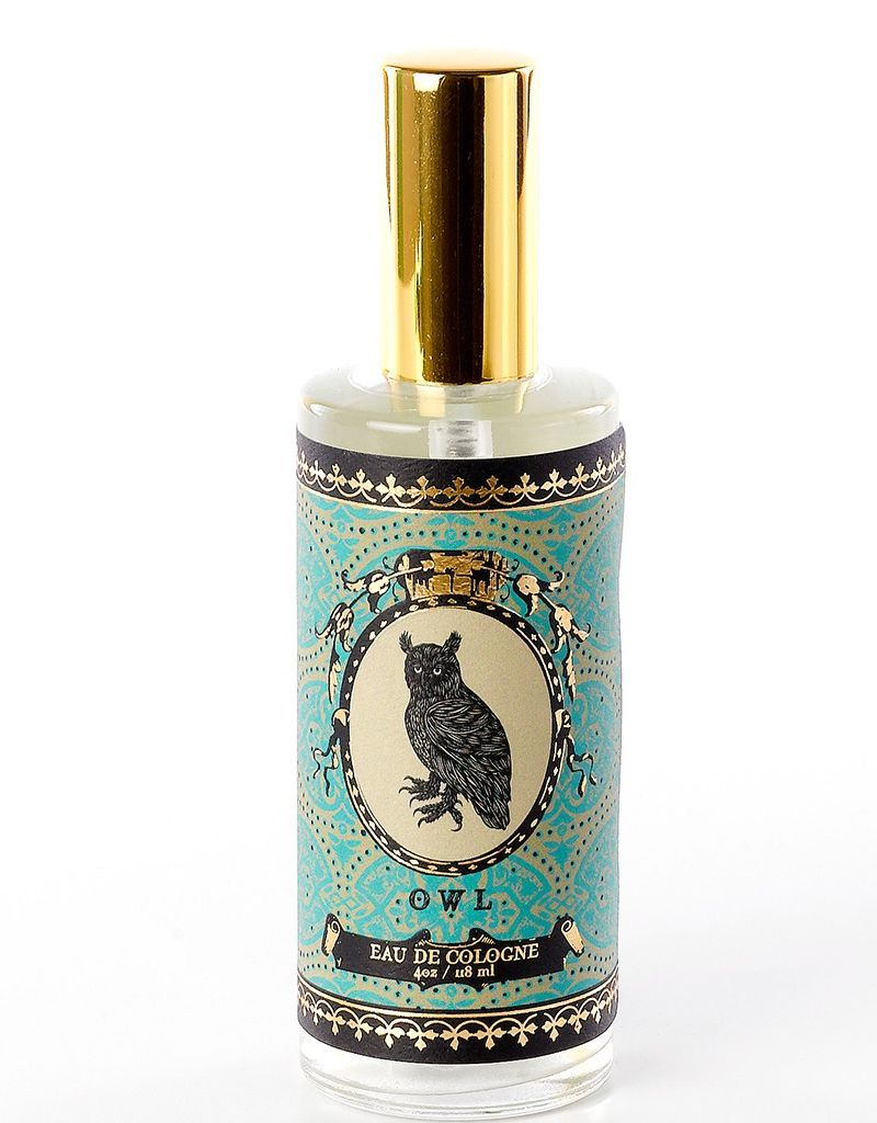Soap & Paper Factory 4 oz Owl Eau de Cologne