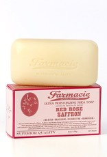Soap & Paper Factory Red Rose Saffron Bar Soap Farmacie