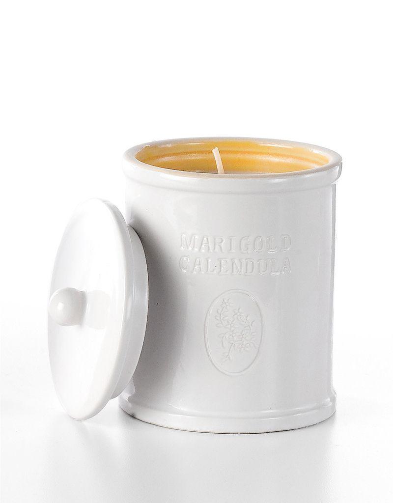Soap & Paper Factory Marigold Calendula Ceramic Candle Farmacie