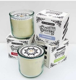 Spinster Sisters Soy Lotion Candle Glass