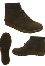 Relax Shoe Siena Suede Lace-Up Ankle Boot