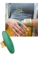 Matr Boomie Tara Stone Ring-Green