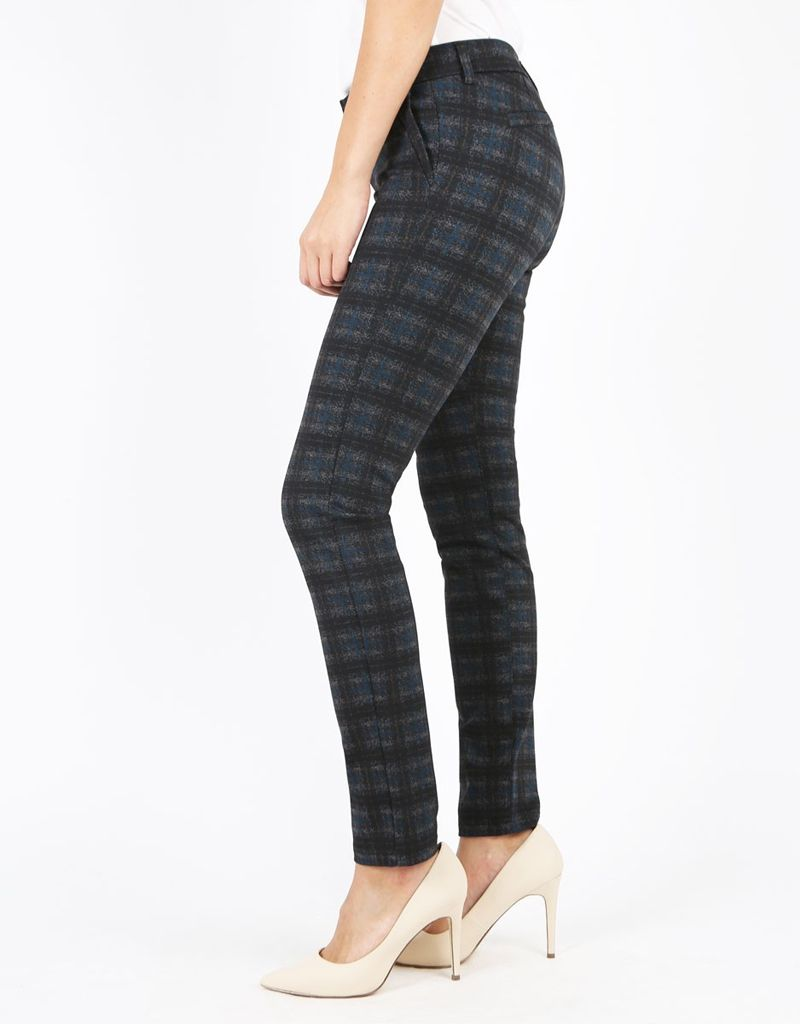 Kut from the Kloth Kut from the Kloth, Diana Plaid Ponte Skinny Pants