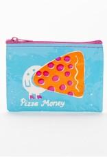 Blue Q Pizza Money Coin Purse