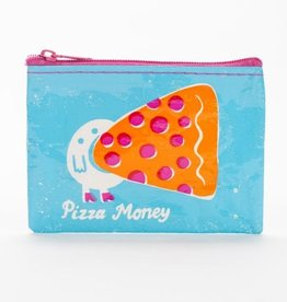 Blue Q Pizza Money Coin Purse