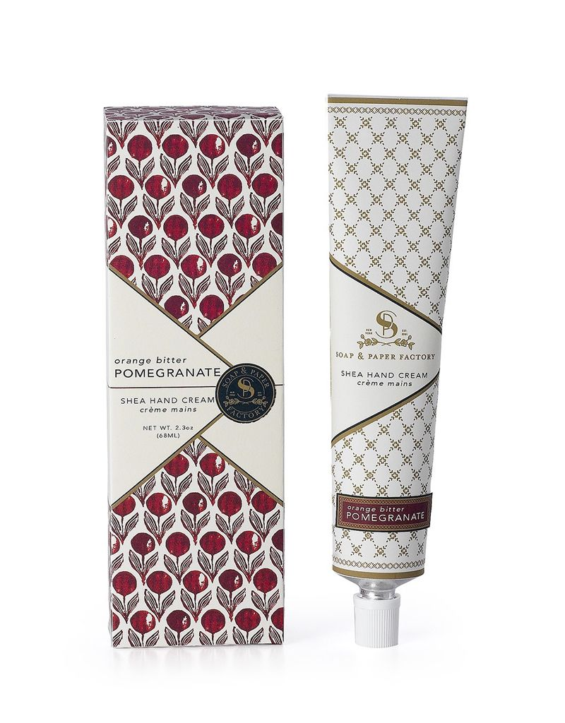 Soap & Paper Factory Orange Bitter Pomegranate Petite Hand Cream 1oz 30ml