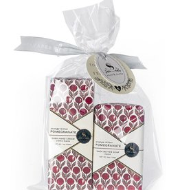Soap & Paper Factory Orange Bitter Pomegranate Petite Hand Cream and Soap Set