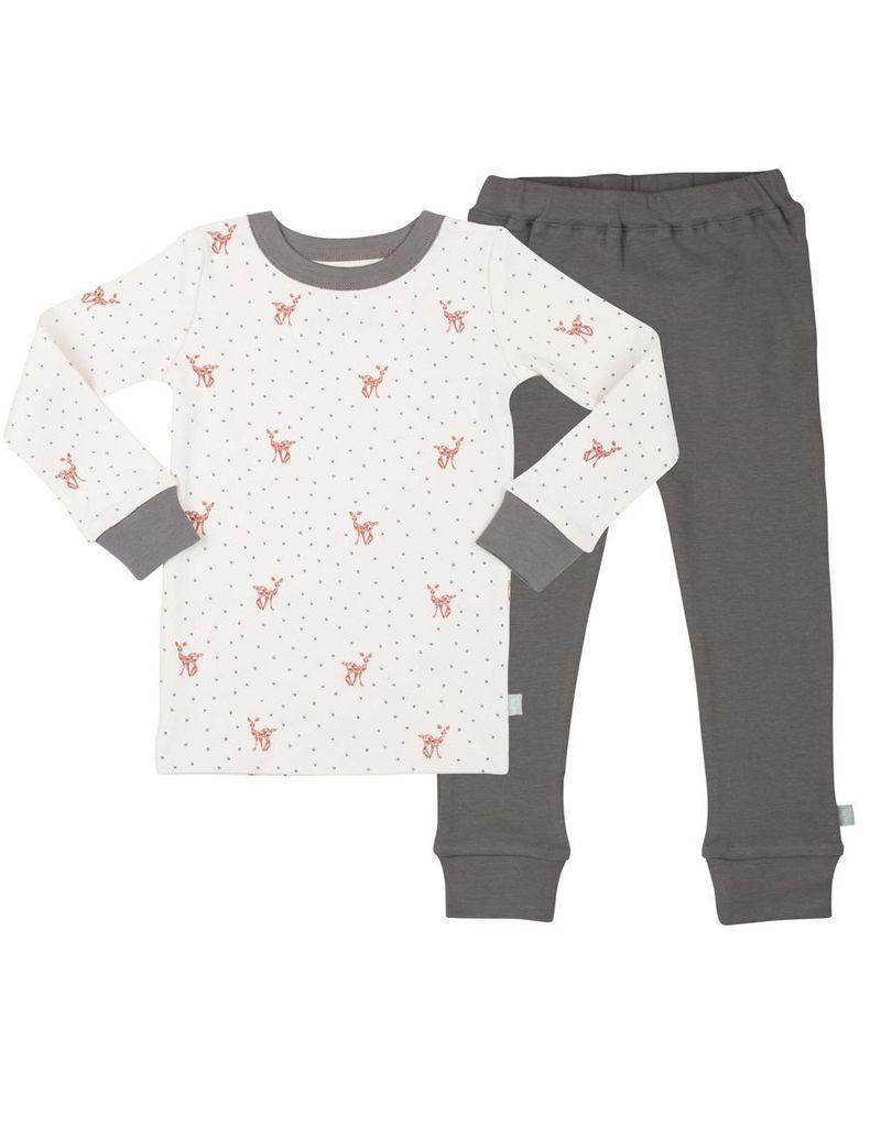 Finn & Emma Fawn Organic Cotton Pajamas