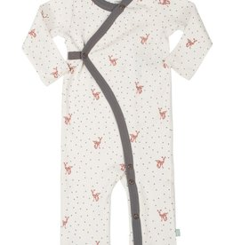 Finn & Emma Coverall Fawn Organic Cotton
