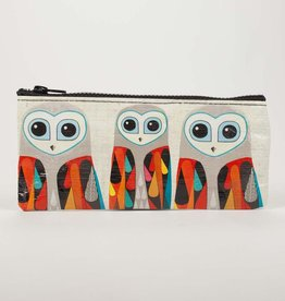 Blue Q Hoo's Next Pencil Case