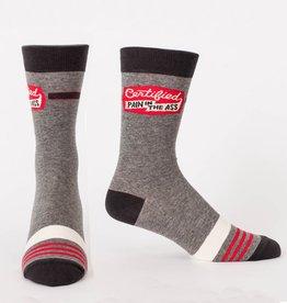 Blue Q Certified Pain Ass Men's Socks