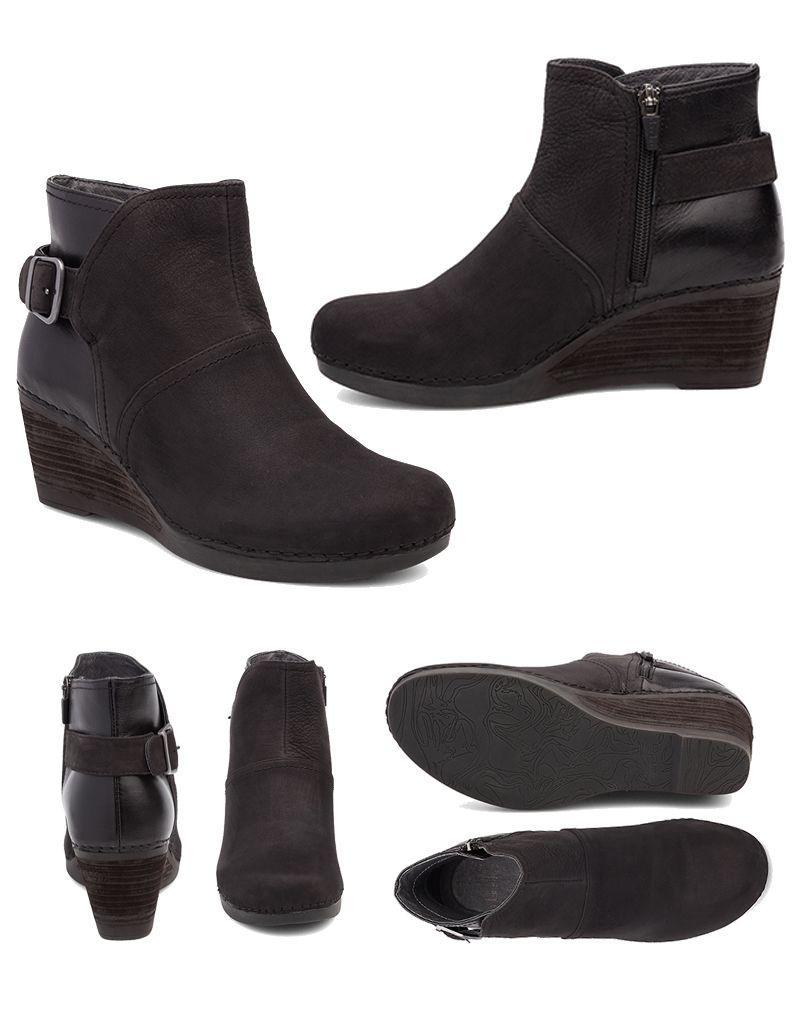 Dansko Dansko Shirley Suede & Leather Boots