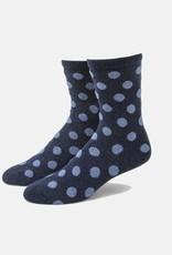 Biella/Standard Merch Bea Polka Dot Crew Socks