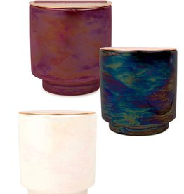 Paddywax Glow 17oz. Iridescent Ceramic w/ Copper Lid
