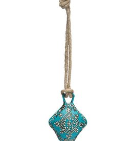 Matr Boomie Teal Henna Treasure Bell - Small