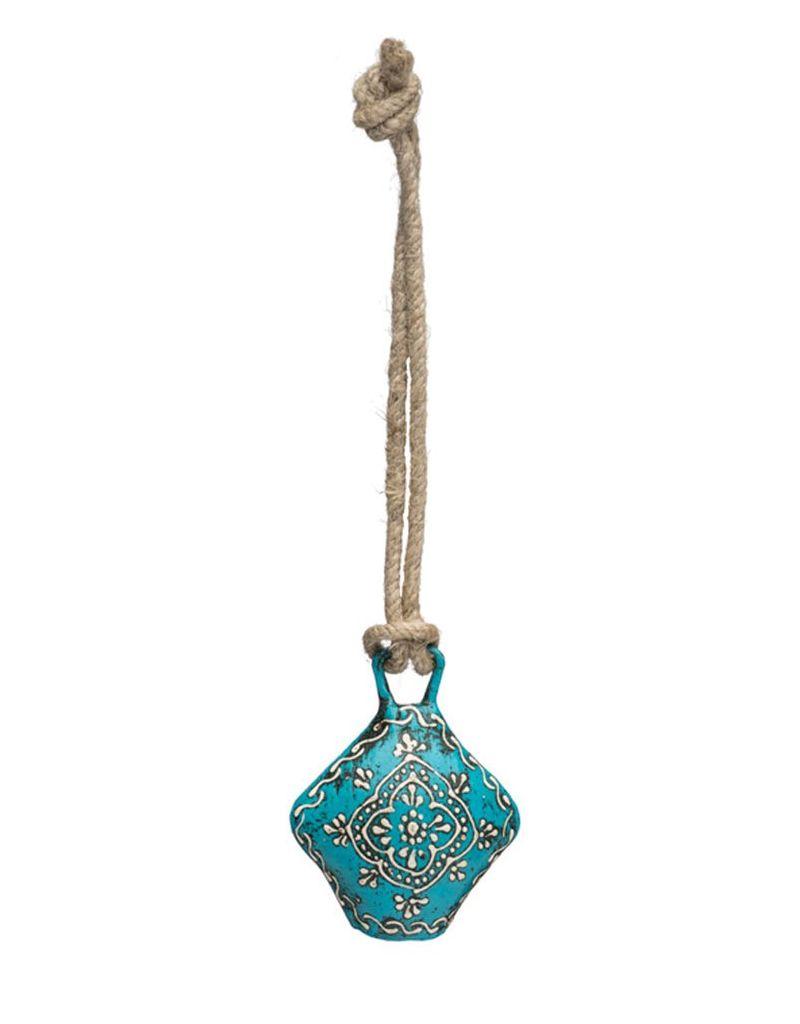 Matr Boomie Teal Henna Treasure Bell - Small