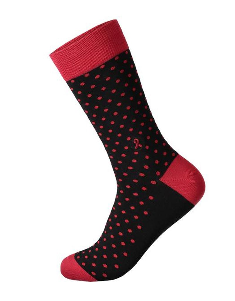 Conscious Step Socks That Treat HIV, Dots