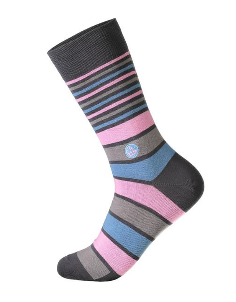 Conscious Step Socks That Fight Hunger, Stripes