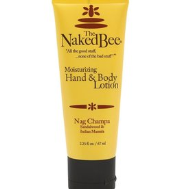 Naked Bee Nag Champa Hand & Body Lotion 2.25 oz