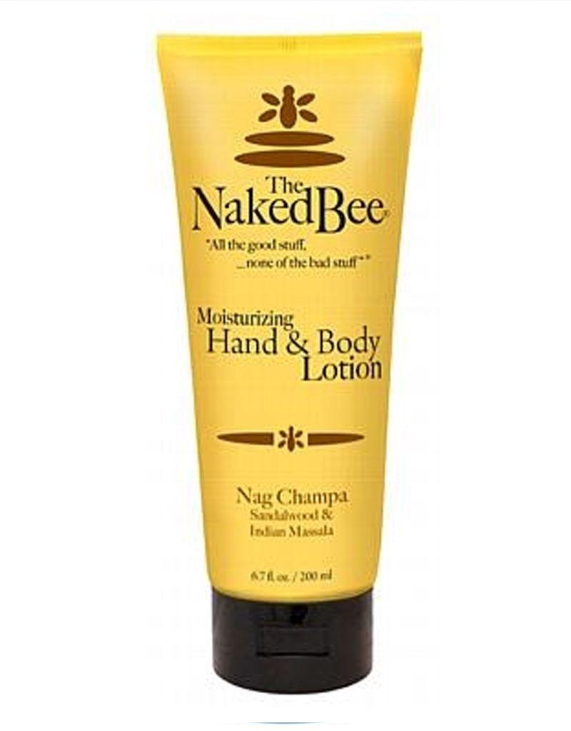 Naked Bee Nag Champa Hand & Body Lotion 6.7 oz
