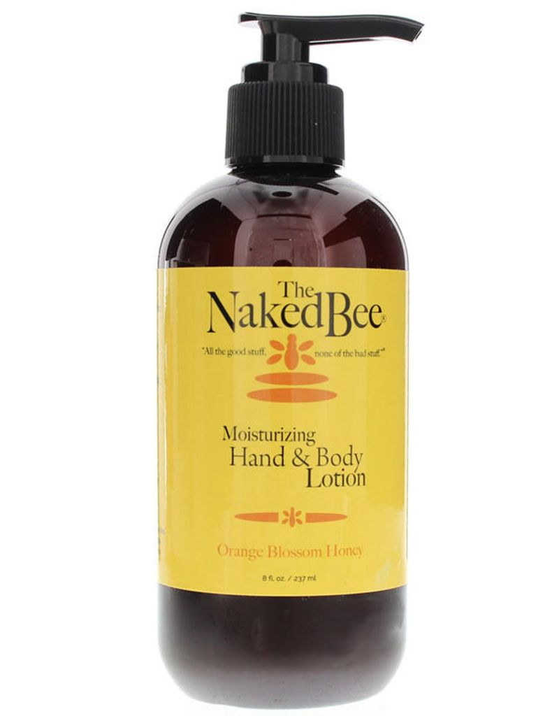 Naked Bee Orange Blossom Honey Hand & Body Lotion 8 oz Pump