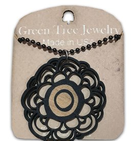 Green Tree Jewelry MLB Signature Flower Necklace