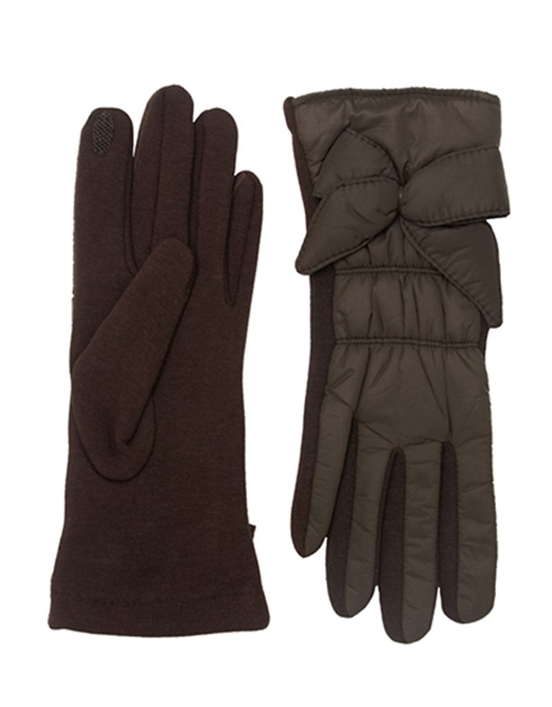 Bluebell Padded Gloves with Bow