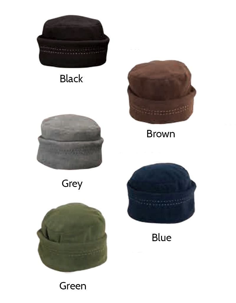 Dorfman Pacific Microfleece Cloche Hat w/Contrast Stitching