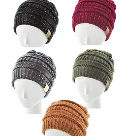 Bluebell Specks Knit Cap