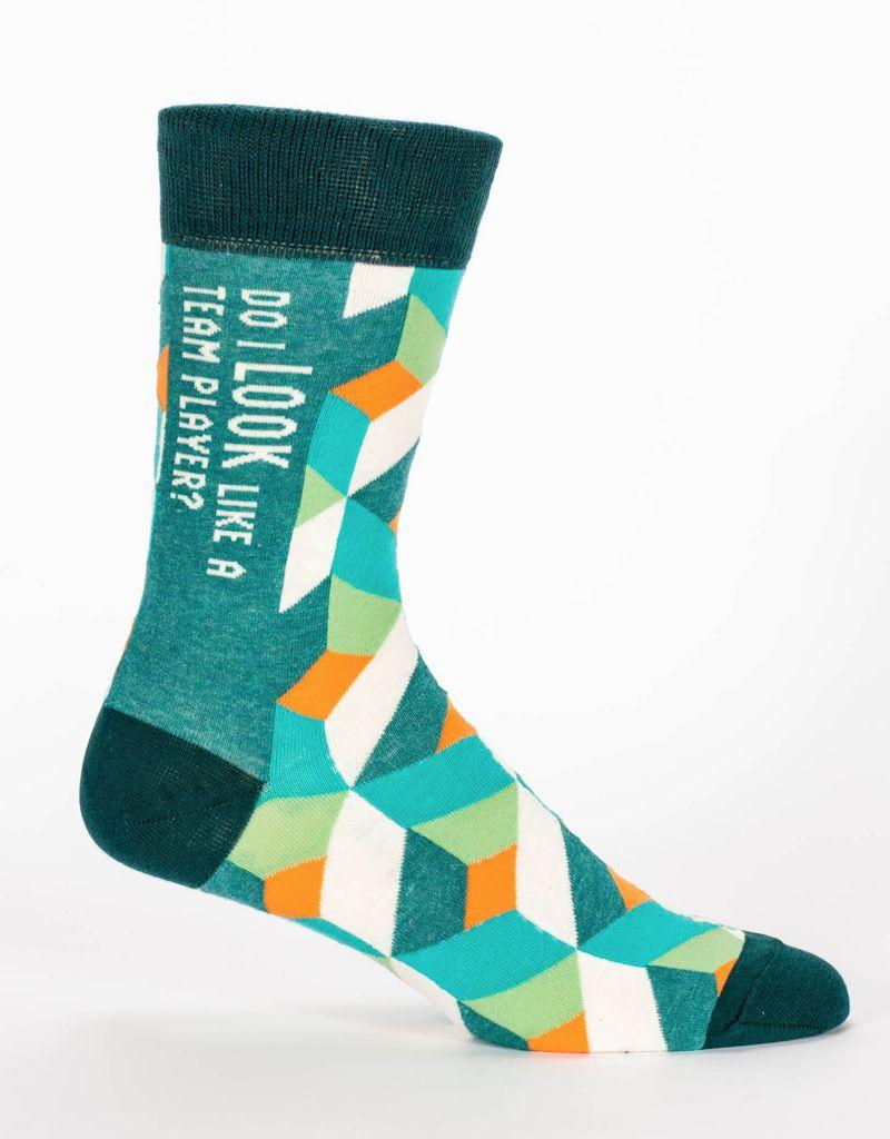 Blue Q Team Player Men's Socks