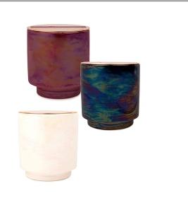 Paddywax Glow 5oz. Iridescent Ceramic w/ Copper Lid