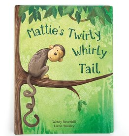 Jelly Cat Mattie's Twirlty Whirly Tail Book